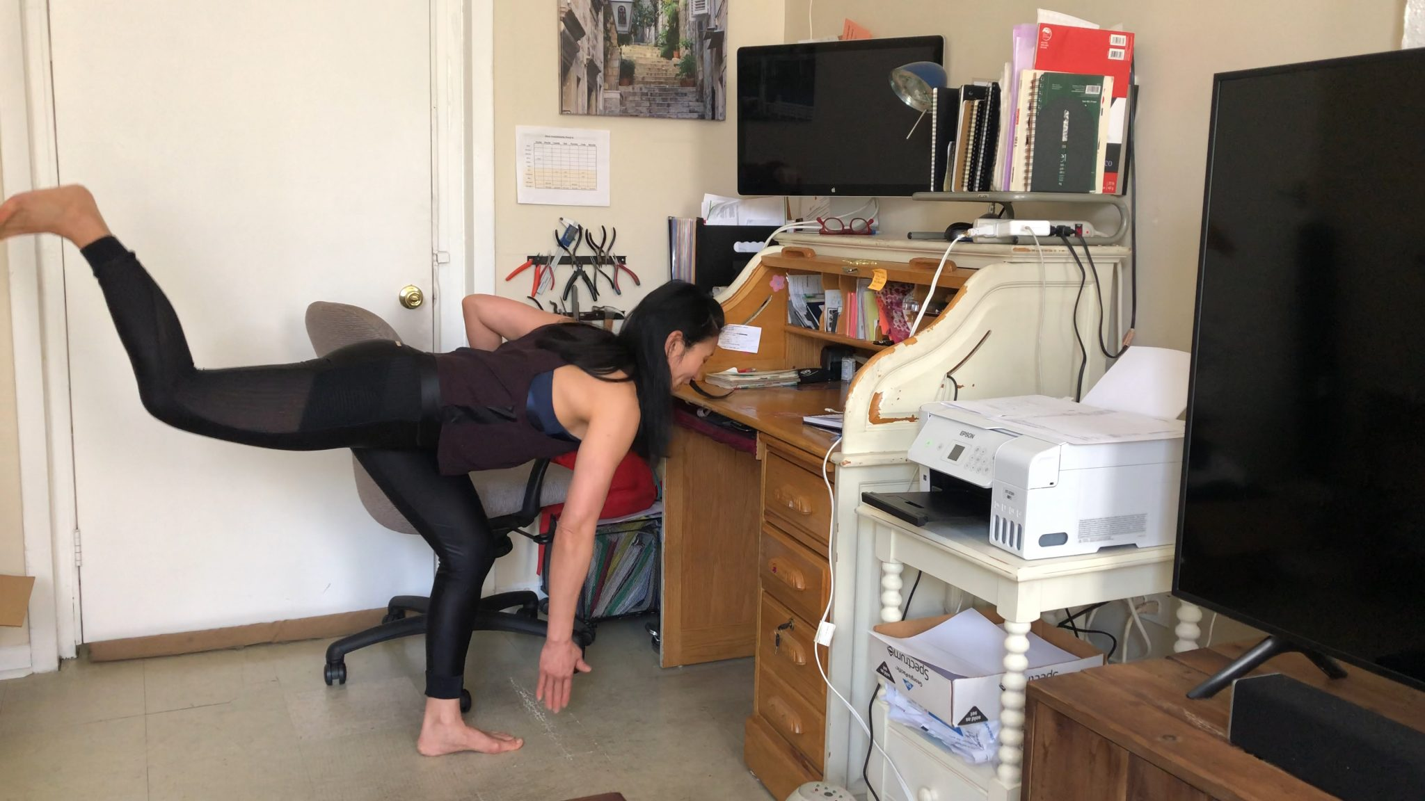 5 Minute Workout: Exercise In Between Zoom Calls While You Work At Home