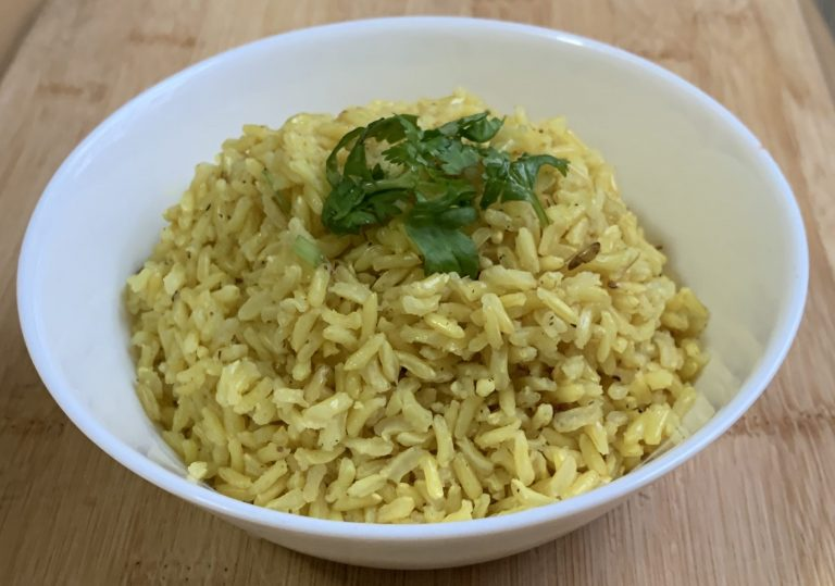 Turmeric Rice (Vegetarian or Vegan)